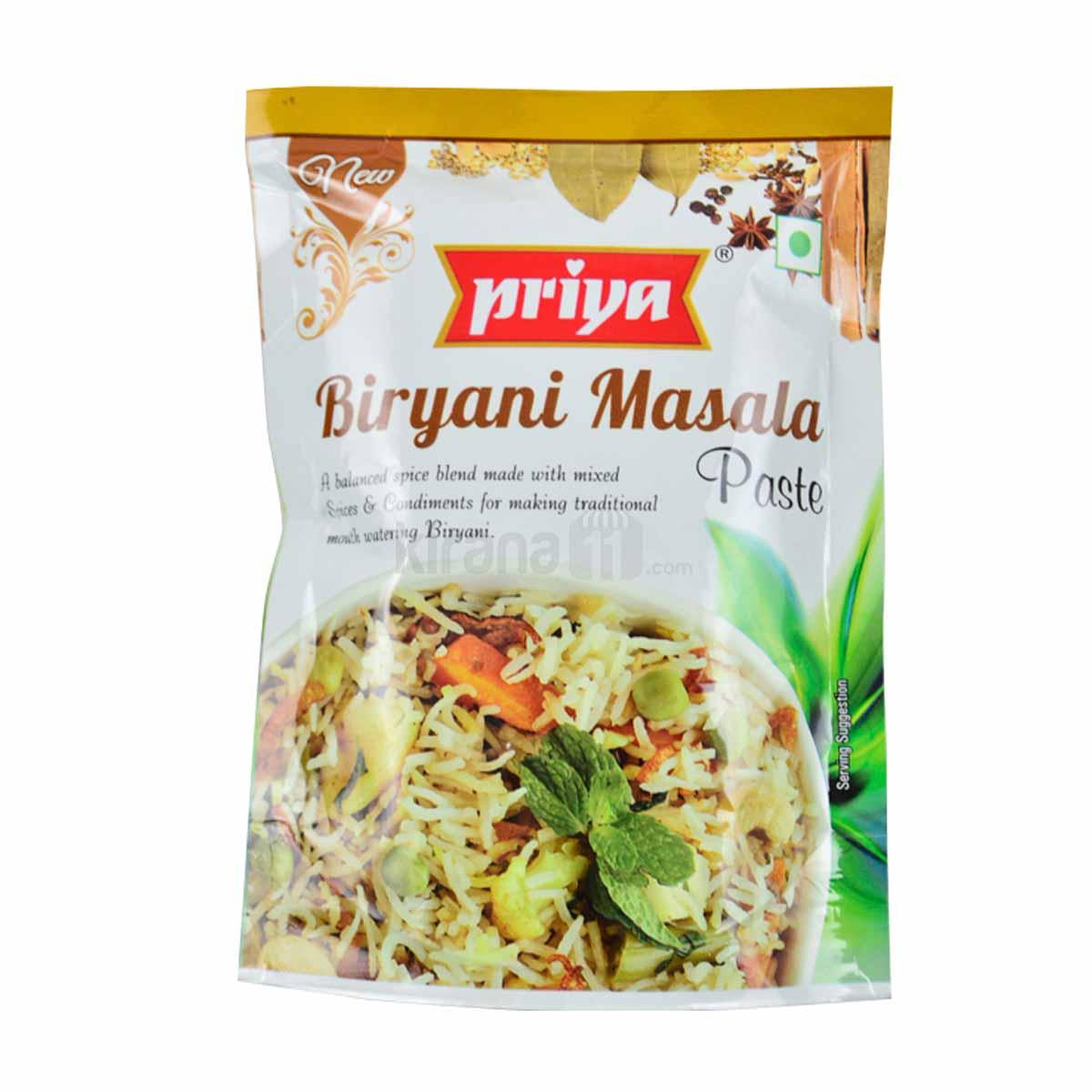 Priya garam masala - Best garam masala brands in india - Spice mixes brands