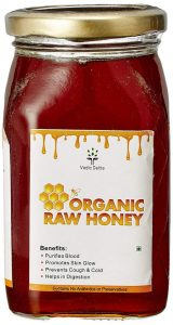 Vedic Delite Organic Raw Honey - pure and organic honey