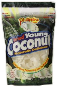 PHILIPPINE DRIED COCONUT SNACK