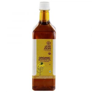 Pure & Sure Organic Mustard Oil